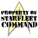 Property of Starfleet Command