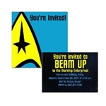 Star Trek Invitations
