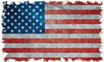 USA United States American Flag - Grunge