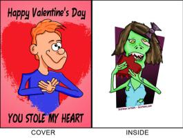 Zombie Valentines Day