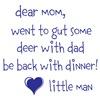 gut deer with dad