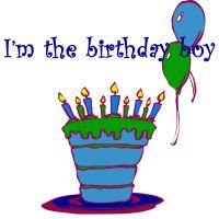 Birthday Boy Cake Shirts and More