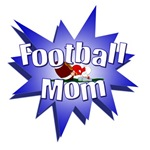 FOOTBALL MOM T-SHIRTS AND GIFTS