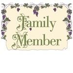 Family Member Vineyard T-Shirts