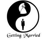 Yin Yang Bride and Groom