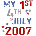 My 1st 4th of July T-Shirts