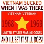 NAM SUCKED 68 & 69 USMC