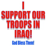 Support Our Troops God Bless Them