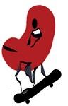 Kidney Skateboarder