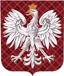 Polish Eagle Plaid Crest