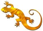 Golden Yellow Gecko