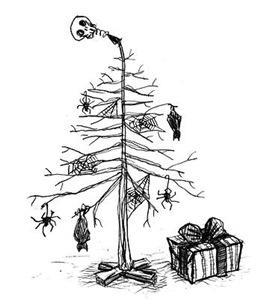 Gothic Christmas Tree
