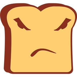 Rather Angry Toast