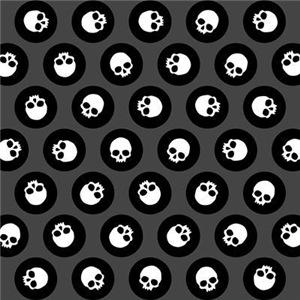 Skull Polkadots