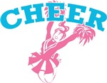 Pink and Blue Cheer T-shirts