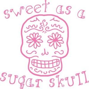 Sweet As A Sugar Skull Pink