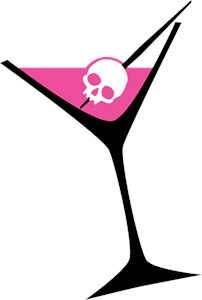 Pink Skull Martini