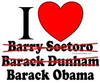 I Heart, er, Obama I guess