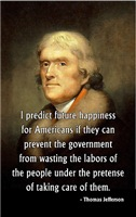 Jefferson, Future Happiness