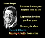 Ronald reagan quote recovery starts when obamas go