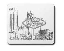B/W Las Vegas