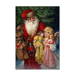 Santa and Christmas Angel