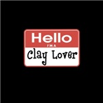 Clay Lover Nametag