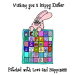 Happy Easter Bunny Quilt