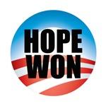 Hope Won - Barack Obama Logo