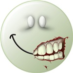 Zombie Smiley Face