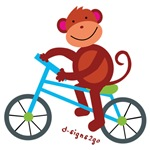 Monkey Biking