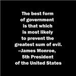 James Monroe Quote