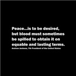 Andrew Jackson Quote on Peace