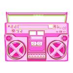 Pink Boombox 3d
