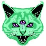 Hiss Cat Green