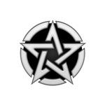 Chrome Pentagram