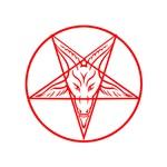 Red Pentagram Baphomet