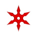 Red Shuriken