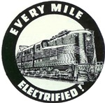 GG-1 ELECTRIC, EVERY MILE ELECTRIFIED !