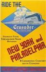 Jersey Central Railroad Crusader Poster