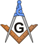 Masonic Square and Compass #28