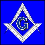 Masonic Square and Compass #9