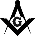 Masonic Square and Compass #7