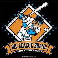 Big League Brand Baseball