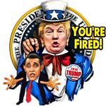 Trump Uncle Sam - You're Fired!