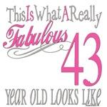 43rd Birthday Gift