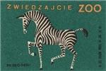 Zebra Matchbox Label II