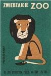 Lion II Matchbox Label
