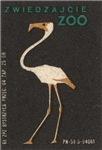 Flamingo II Matchbox Label