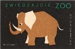 Elephant II Matchbox Label